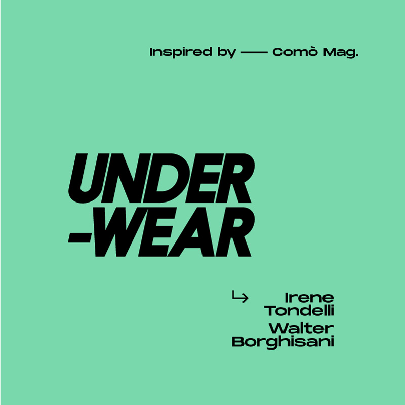 Under-wear Fotografia Europea 2019 Comò Mag.